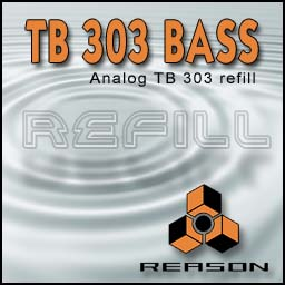 TB 303 bass reason refill