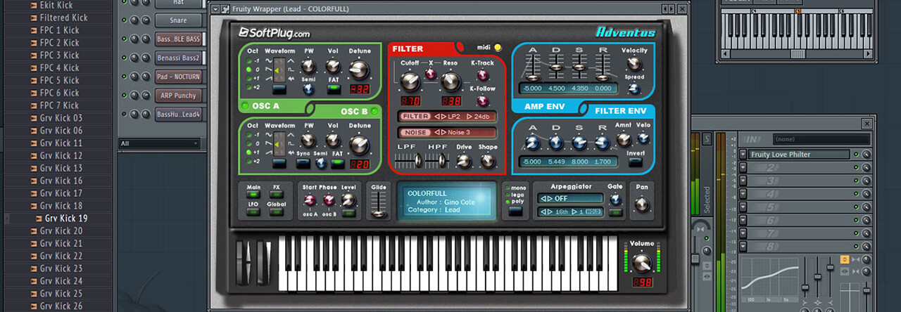 Adventus VST - Your trance, techno, dubstep music plugin